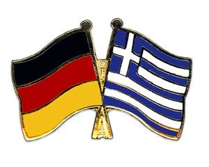 Freundschaftspins Deutschland-Griechenland