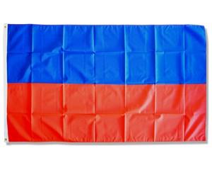 Flagge blau und rot gestreift Sonderposten