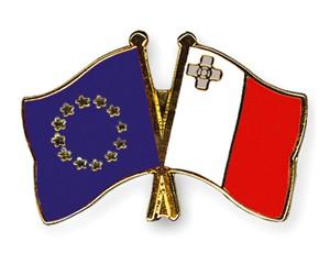 Freundschaftspins Europa-Malta