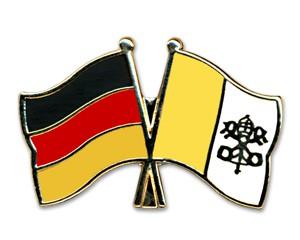 Freundschaftspins Deutschland-Vatikanstadt
