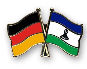 Freundschaftspins Deutschland-Lesotho