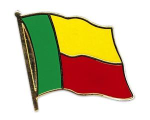 Flaggen-Pins Benin