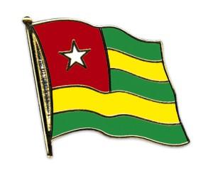 Flaggen-Pins Togo