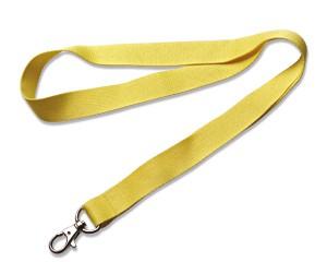 Schlüsselband 20 mm gelb