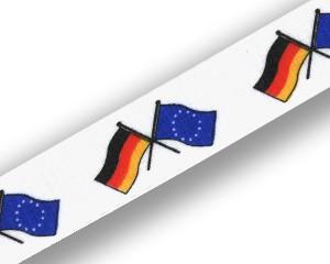 Freundschafts-Schlüsselbänder Deutschland-Europa