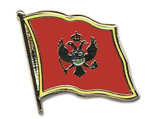Flaggen-Pins Montenegro
