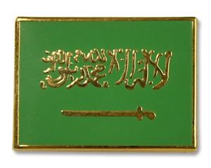 Flaggen-Pins Saudi Arabien (rechteckig)
