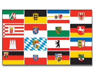 flagge deutschland 16 bundesl nder 90 x 150 regionen deutschland sonstige flaggen 90 x 150. Black Bedroom Furniture Sets. Home Design Ideas