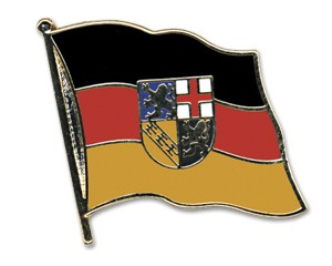 Flaggen-Pins Saarland