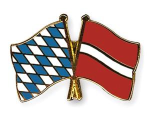 Freundschaftspins Bayern-Lettland