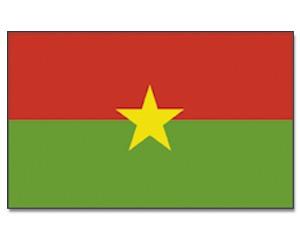 Flagge Burkina-Faso
