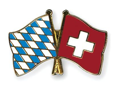 Freundschaftspins Bayern-Schweiz