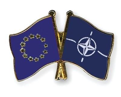 Freundschaftspins Europa-NATO