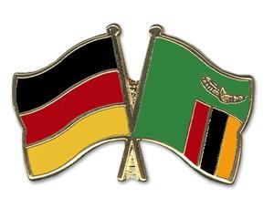 Freundschaftspins Deutschland-Sambia