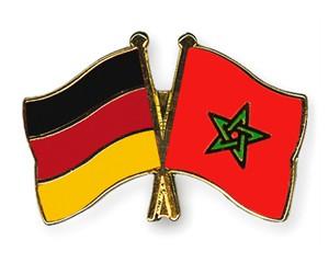 Freundschaftspins Deutschland-Marokko