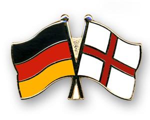 Freundschaftspins Deutschland-England