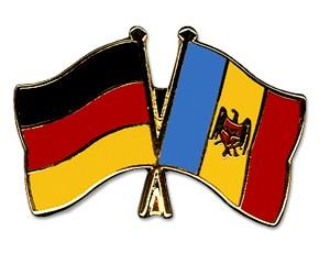 Freundschaftspins Deutschland-Moldau