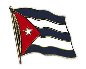 Flaggen-Pins Kuba