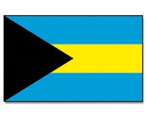 Flagge Bahamas