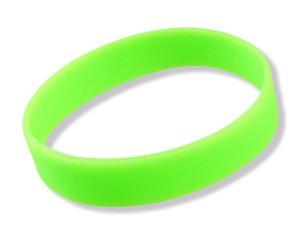 Silikonarmband Neon-Grün