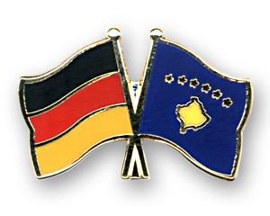 Freundschaftspins Deutschland-Kosovo