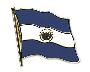 Flaggen-Pins El Salvador