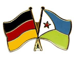 Freundschaftspins Deutschland-Dschibuti