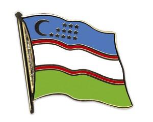 Flaggen-Pins Usbekistan