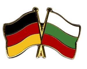 Freundschaftspins Deutschland-Bulgarien
