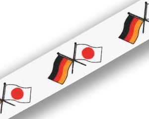 Freundschafts-Schlüsselbänder Deutschland-Japan