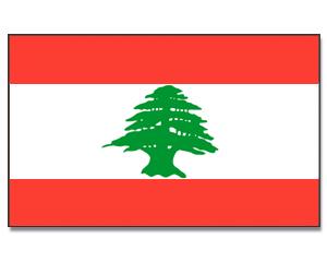 flagge libanon 90 x 150 asien flaggen 90 x 150 cm promex shop flaggen und fahnen. Black Bedroom Furniture Sets. Home Design Ideas