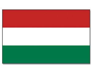 Stock-Flagge Ungarn
