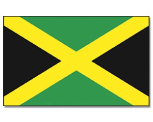 Stock-Flagge Jamaika