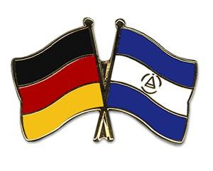 Freundschaftspins Deutschland-Nicaragua