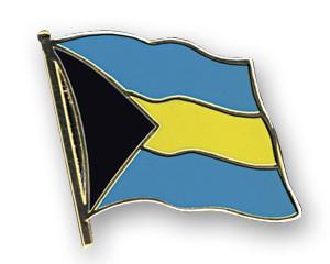 Flaggen-Pins Bahamas