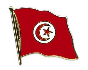 Flaggen-Pins Tunesien