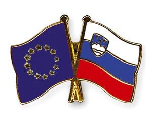 Freundschaftspins Europa-Slowenien
