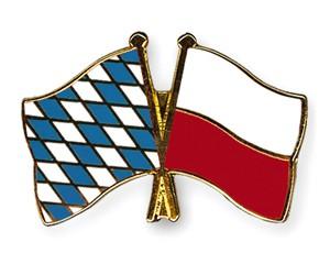 Freundschaftspins Bayern-Polen