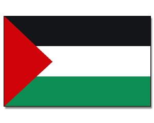 Stock-Flagge Palästina