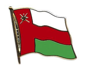 Flaggen-Pins Oman
