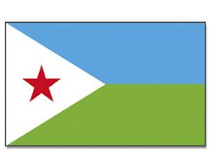 Flagge Dschibuti