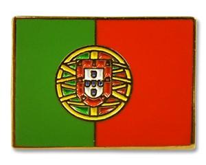 Flaggen-Pins Portugal (rechteckig)