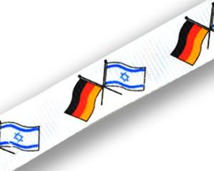 Freundschafts-Schlüsselbänder Deutschland-Israel