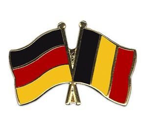 Freundschaftspins Deutschland-Belgien
