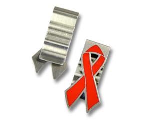 Büroklammer PremioClip Red Ribbon