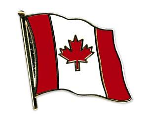 Flaggen-Pins Kanada