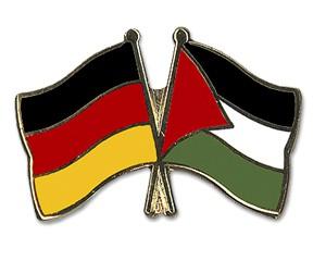 Freundschaftspins Deutschland-Palästina
