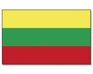 Stock-Flagge Litauen