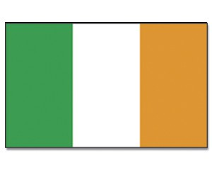 Stock-Flagge Irland