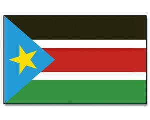 Stock-Flagge Süd Sudan